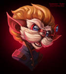 Angry Dinger by RinTheYordle