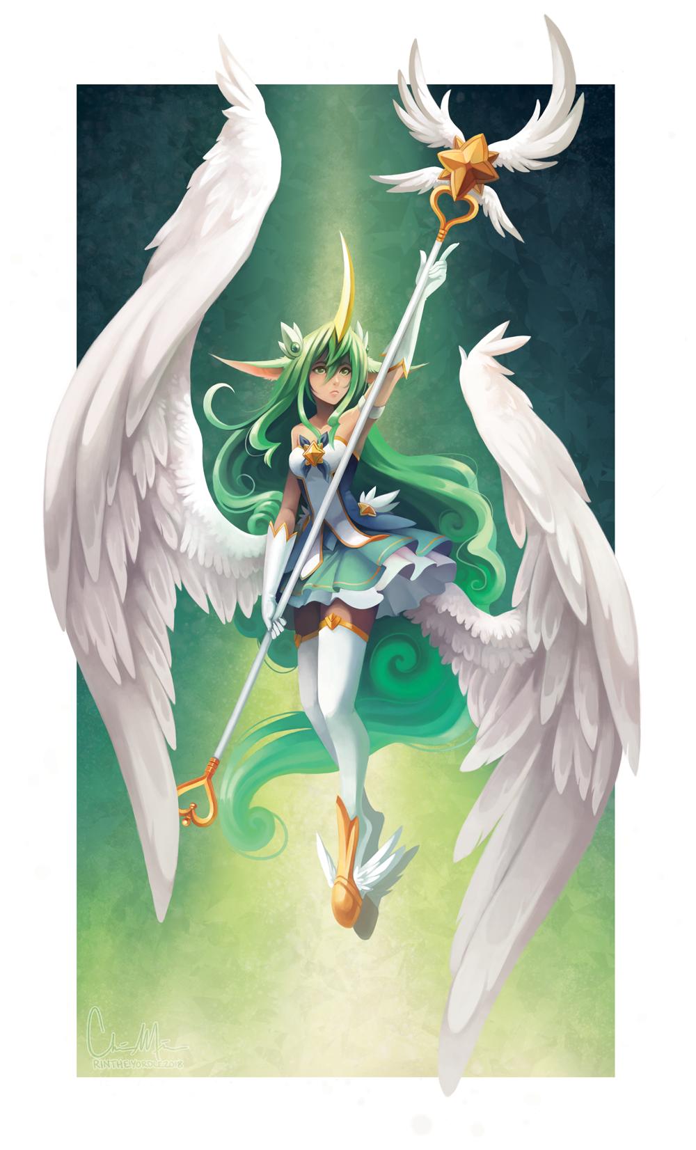 Star Guardian Soraka by RinTheYordle