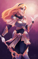 Lux's Light! - Commission Print by RinTheYordle