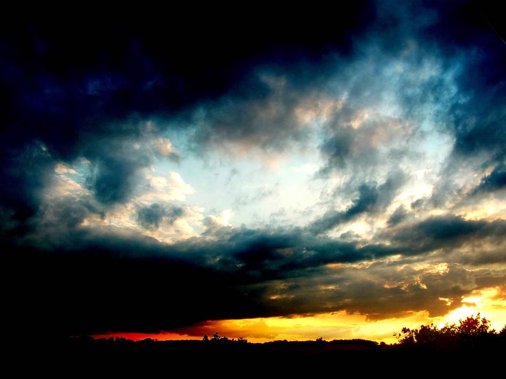 Dark havens at sunset
