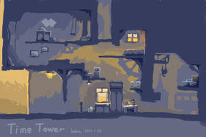 Time Tower by ladace