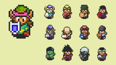 Creating Sprites From Zelda Original Ones
