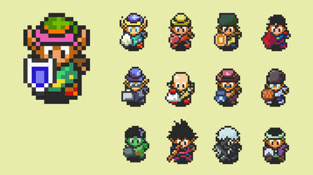 Creating Sprites From Zelda Original Ones by ladace