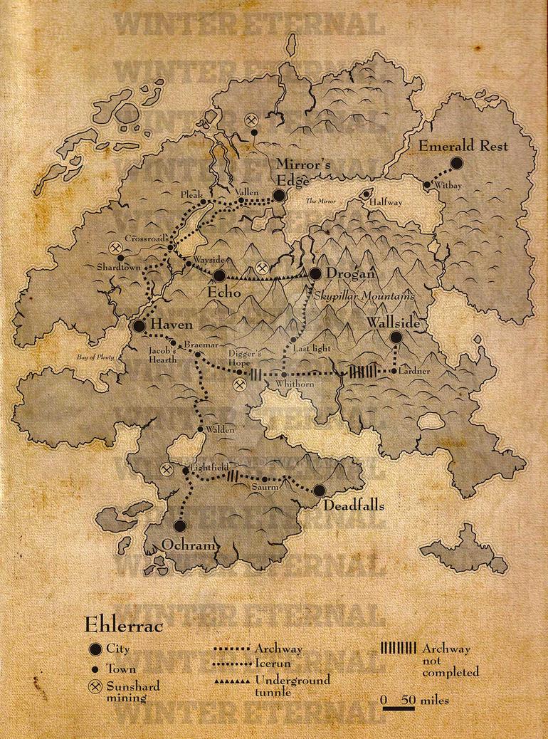 Winter Eternal Map by Mhalakai