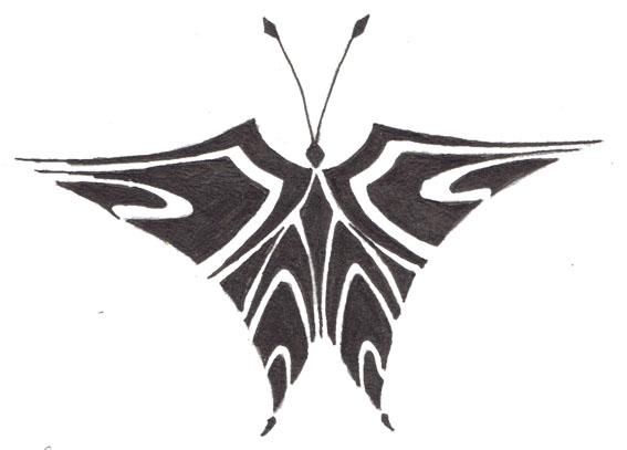 Tribal Butterfly 2 by butterfly--wings on deviantART