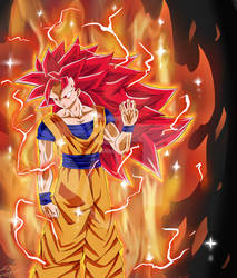 Super Saiyan God 3 by Suitntie