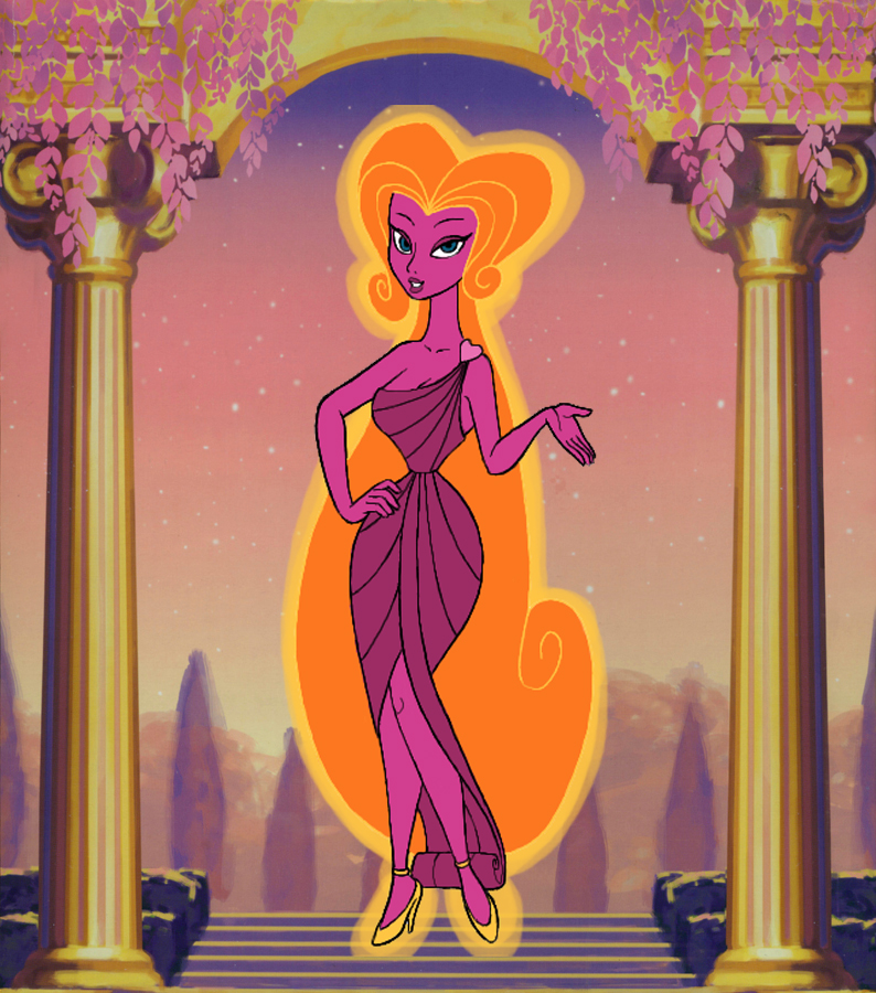 Disneys Hercules Aphrodite by snosages on DeviantArt