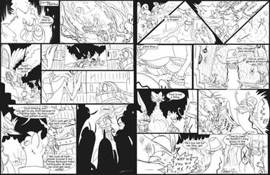 PMDU - Deep Down in the Basalt Caves pg 8-9 by byona