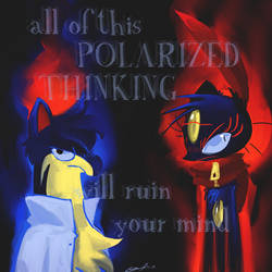 Polarized Thinking by byona