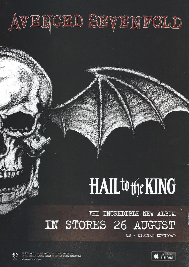 Avenged sevenfold hail to the king by adz6661 on deviantart avenged sevenfold hail to the king by voltagebd