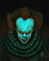 Pennywise clown by EdArtGaming