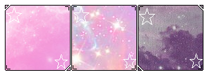 Pastel Galaxy dividers f2u by V-ibes