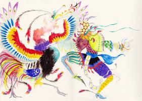 Phoenix Dance by Treebone