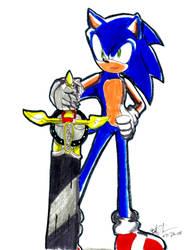 Sonic and the Black Knight WIP by NinjaHaku21