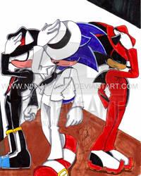 Sonic-R.I.P Michael Jackson by NinjaHaku21