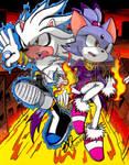 Silver and Blaze- F L A M E S