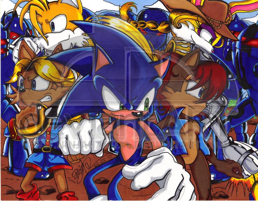 STH- Fighting Swatbots by NinjaHaku21