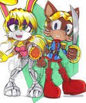 Bunnie and Antoine D'Coolette