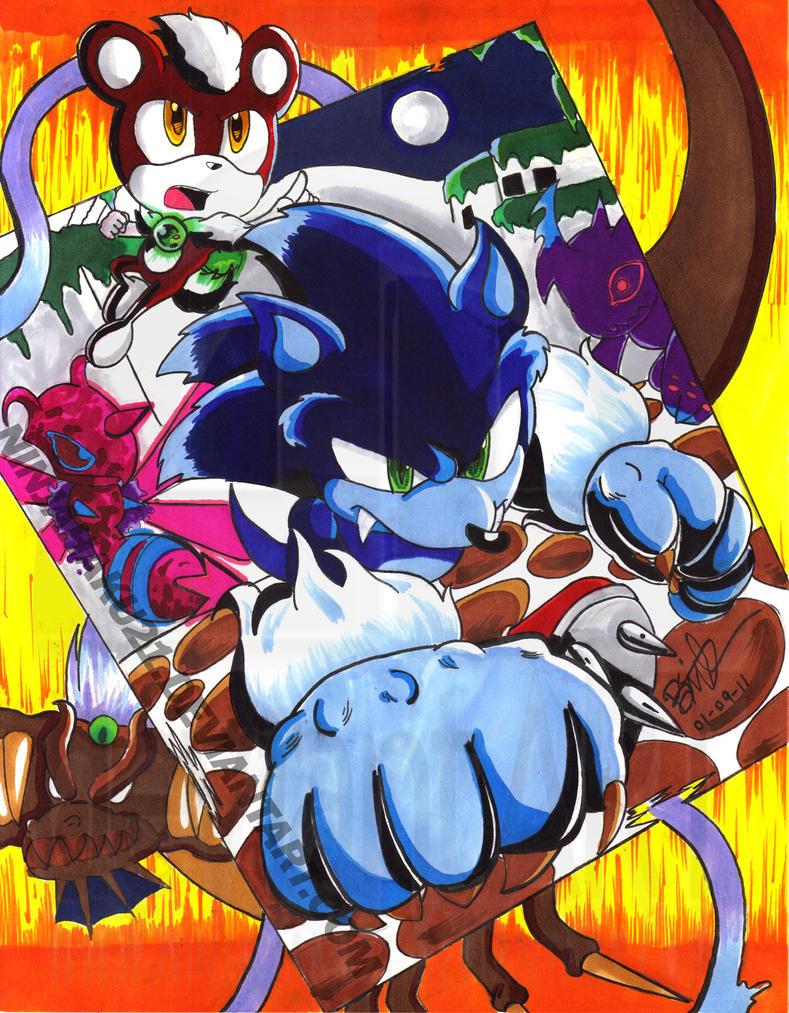 STH-Sonic Unleashed by NinjaHaku21