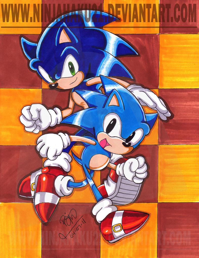 Sonic Generation by NinjaHaku21