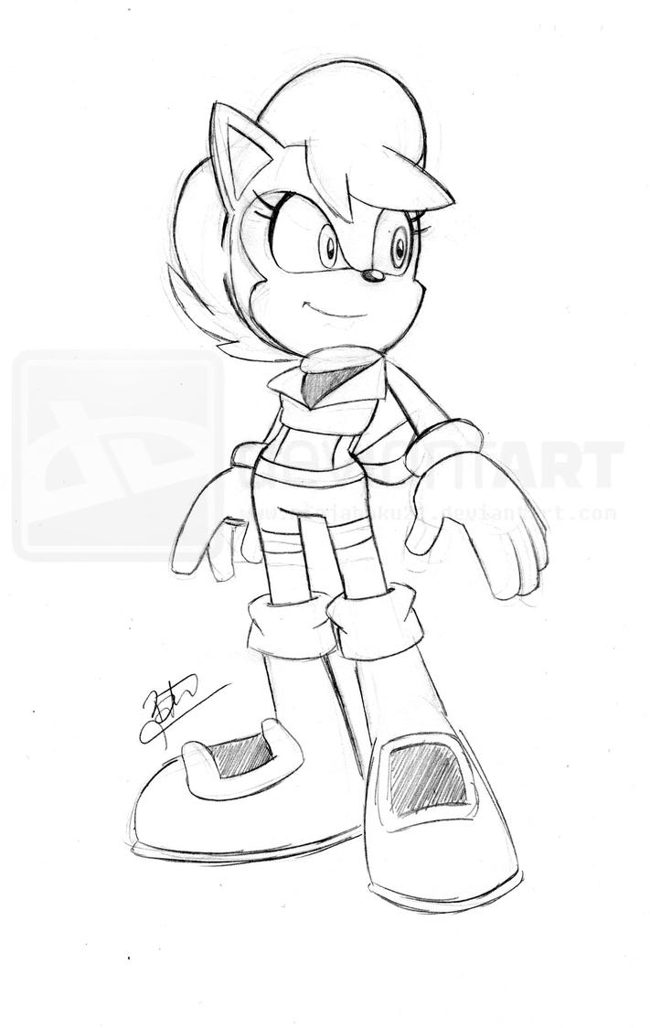 sally acorn by ninjahaku21 on deviantart