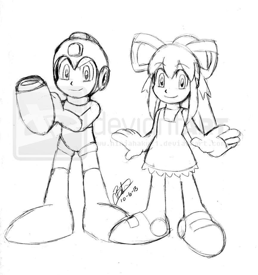Coloring sheet roll - Sonic And Mega Man Coloring Pages Sketch Coloring Page