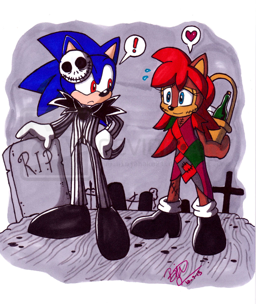 The Nightmare Before Christmas: Sonic and Sally