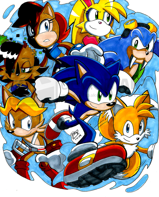STH- The Freedom Fighters by NinjaHaku21