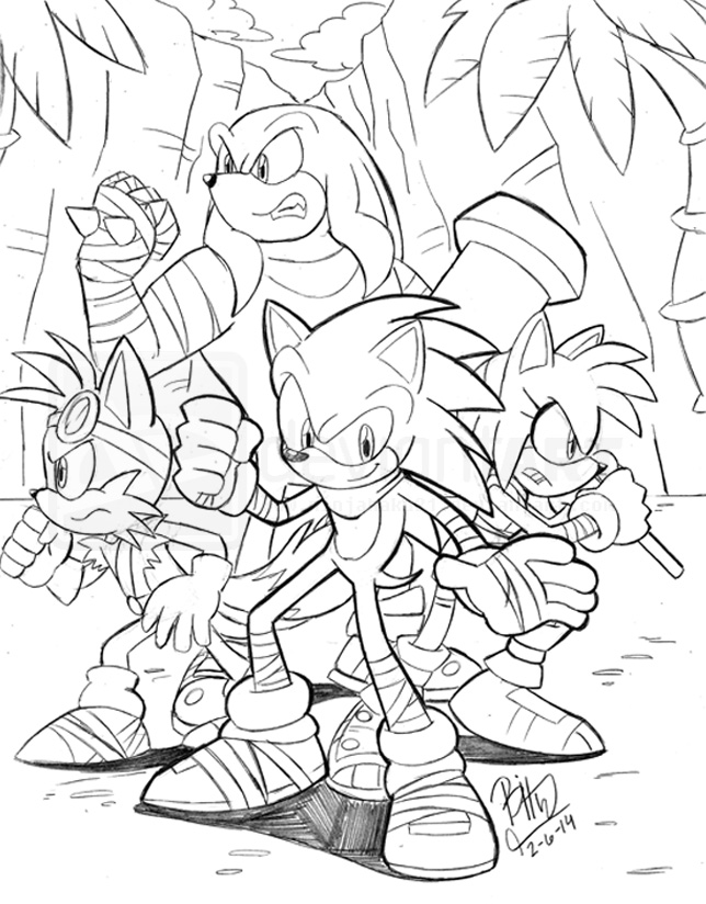BumbleKing Comics • View topic - Sonic Boom and Archie
