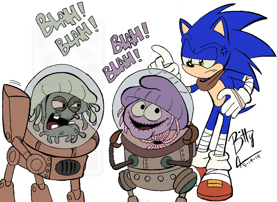 Sonic Boom- Getting Directions... by NinjaHaku21