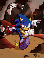 Sonic Forces-Hang on everyone, I'm coming! by NinjaHaku21