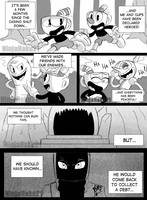 Cuphead Comic idea by NinjaHaku21