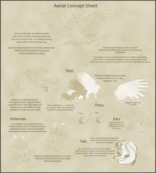 Aerial Concept Sheet [Open Species]