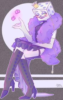 Mr. (drag) Queen Dice