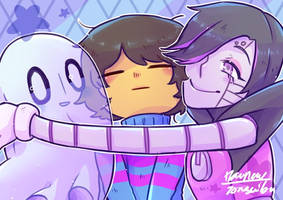 Ghost Hug by jones-wibu