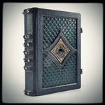 Gothic leather journal...