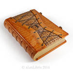 Large Leather Corset Journal (11 x 8 inches)