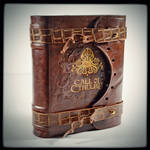 Call of Cthulhu leather journal (6.5 x 5.5 in)