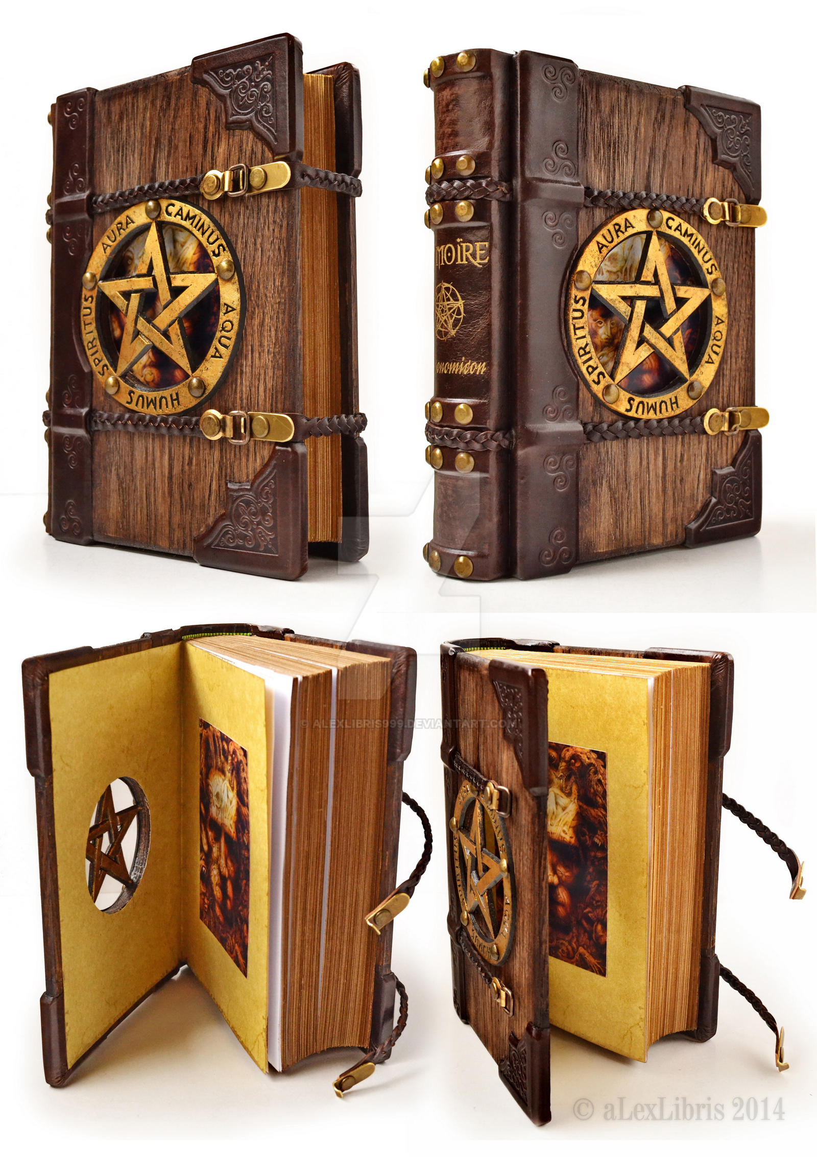 Fantasy Book Cover Art For Sale : The last one wooden grimoire by alexlibris on deviantart