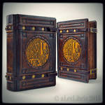 Large medieval styled recipe book...