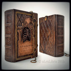 Anatomy book... by alexlibris999
