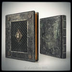 Medieval styled leather journal...