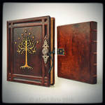 Tree of Gondor leather journal...