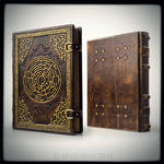 Labyrinth journal, 11 x 14 inches...