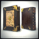 Medieval stylish leather journal...