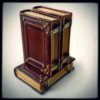 Leather journals... by alexlibris999