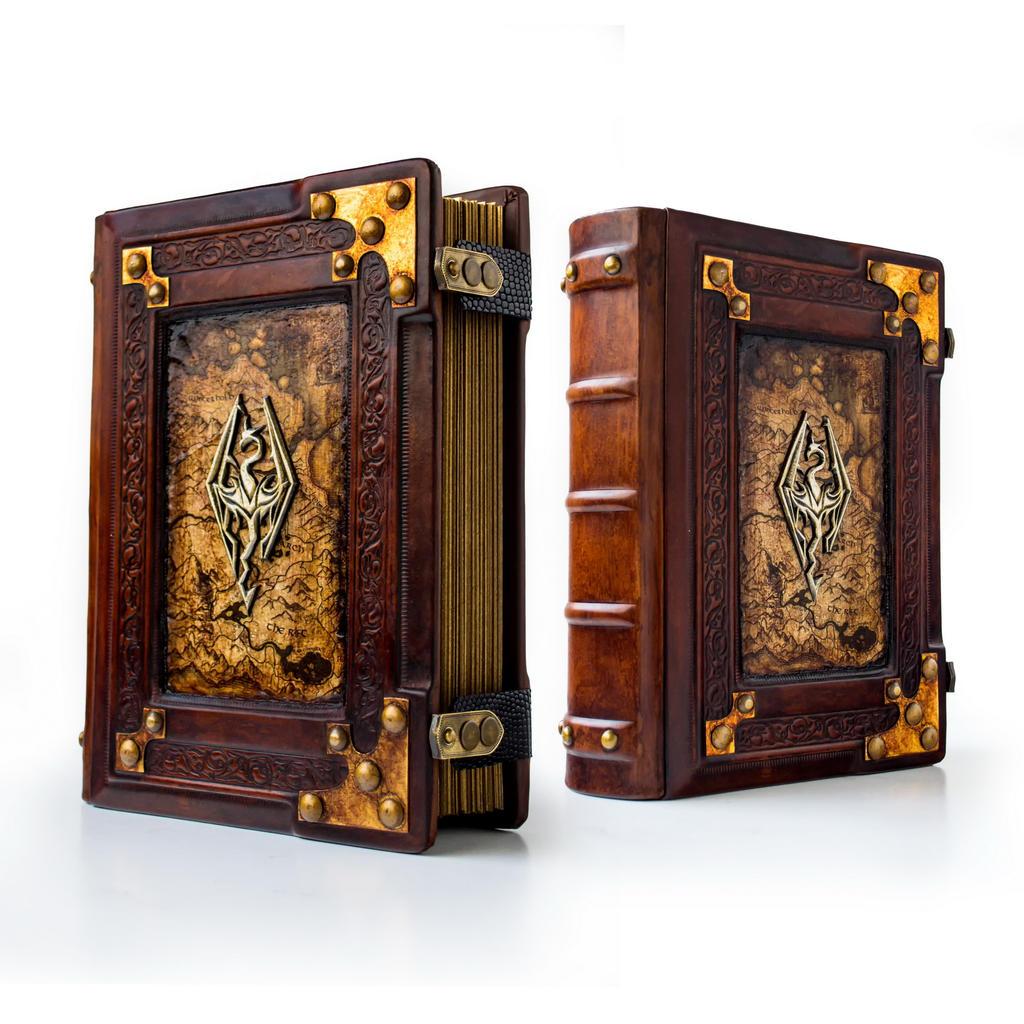 Skyrim leather journal... by alexlibris999