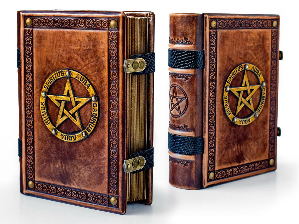 Book of Shadows ~ 8 x 10 inches large ~ 700 pages by alexlibris999
