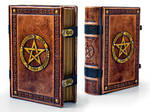 Book of Shadows ~ 8 x 10 inches large ~ 700 pages