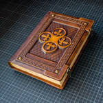 Medieval styled leather journal